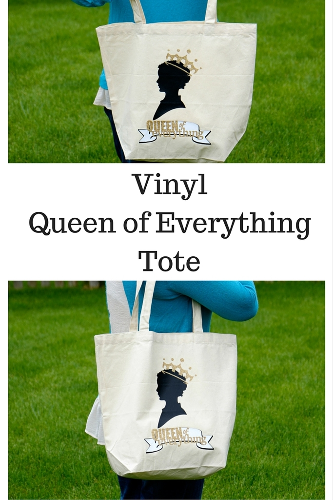 Vinyl Queen of Everything Tote