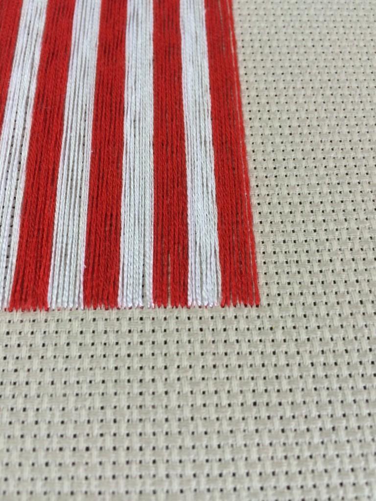 stitched stripes