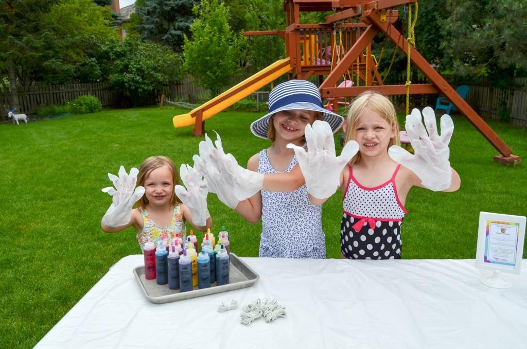 wear the gloves!