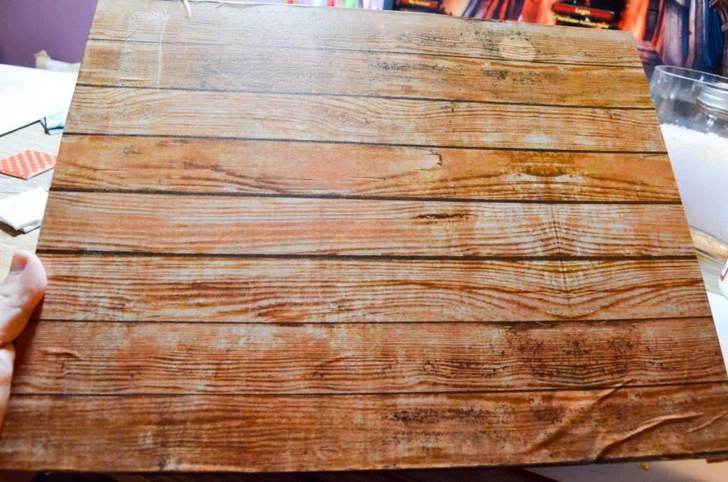 DIY Decor Tape in Wooden Grain