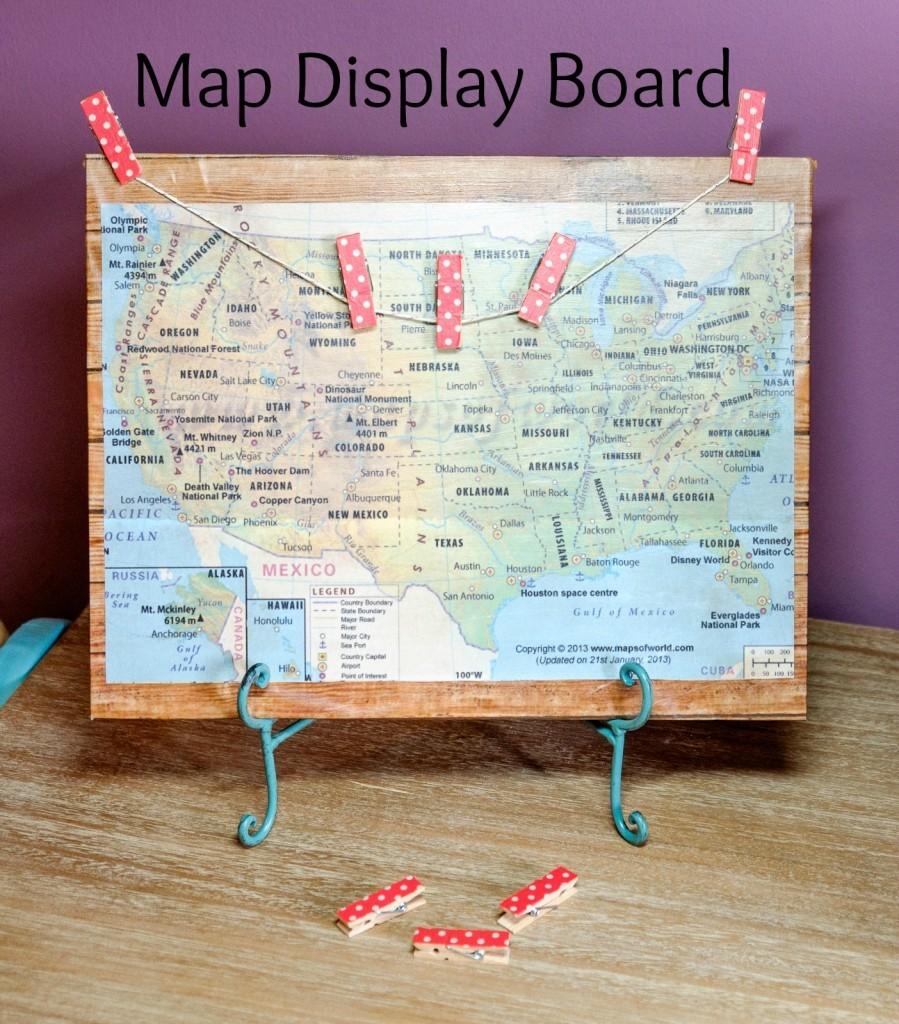 Map Display Board