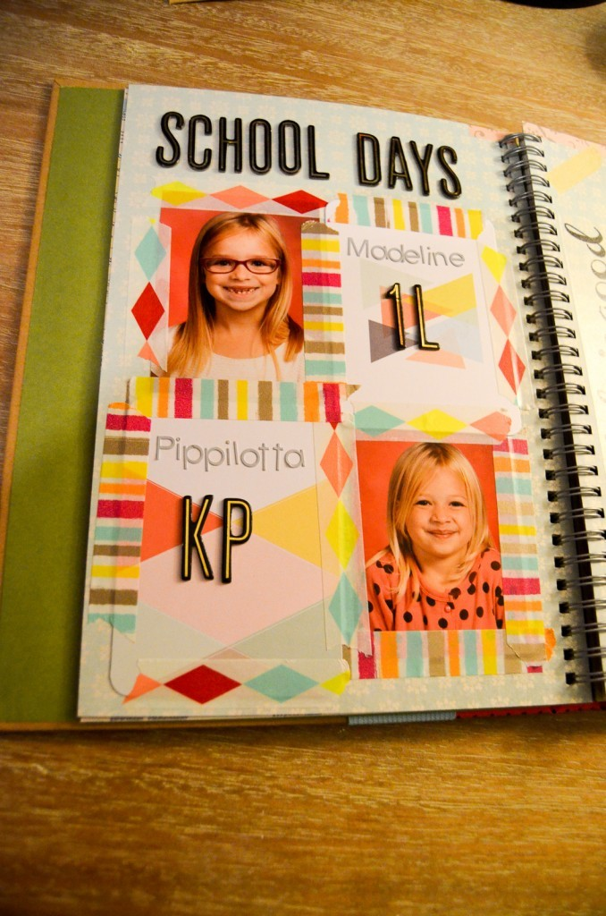 School Days Smashbook Page
