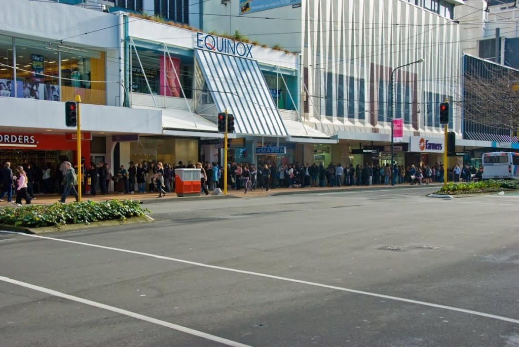 line for Deathly Hallows