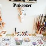 DIY Decor Tape Dressing Table Makeover