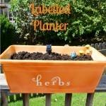 Easy Labelled Planter