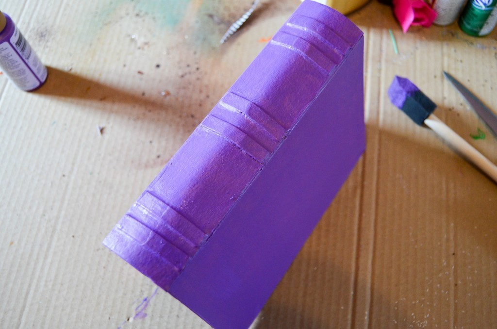 paint your book purple