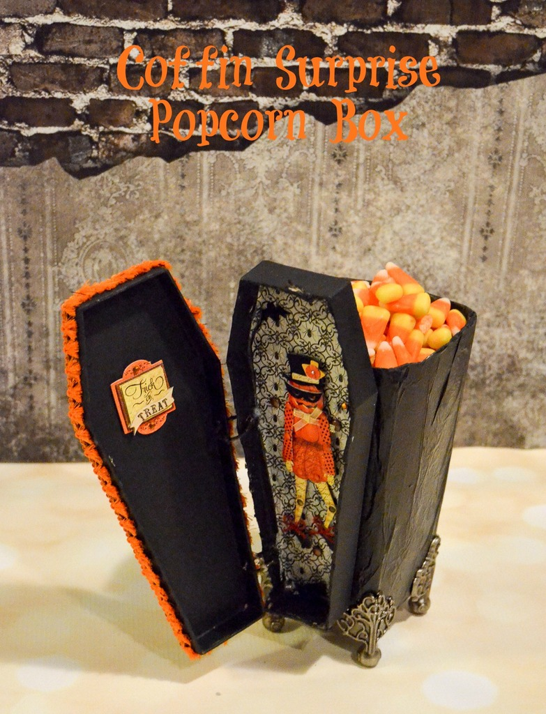 Coffin Surprise Popcorn Box
