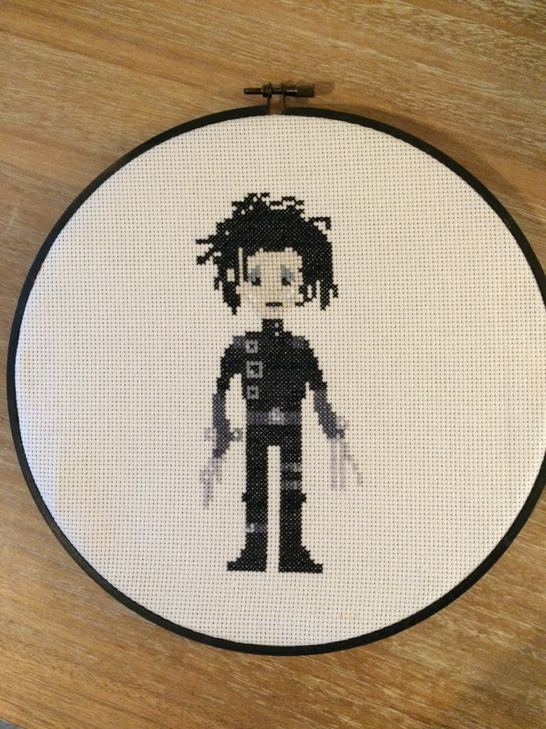 Edward Scissorhands (pattern by Tiny Needle)