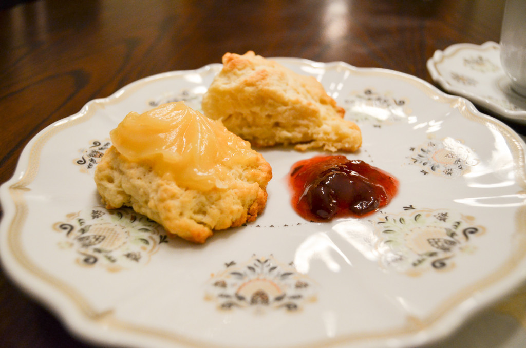 Blueberry Tea-Infused Scones