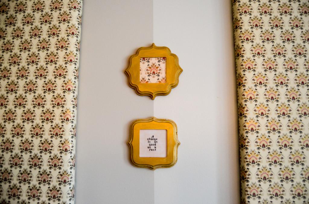 Downton Abbey Cross Stitch Decor