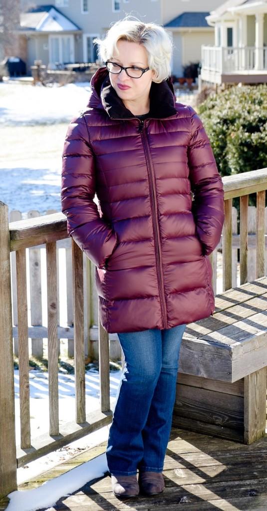 Boras Fleece Lined Down Puffer Coat