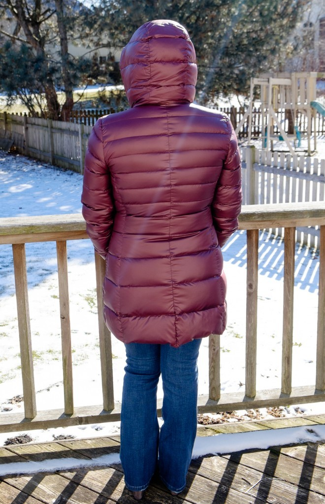 Boras Fleece Lined Down Puffer Coat