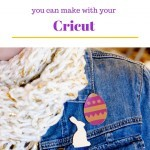 Easy Easter Brooches with your Cricut