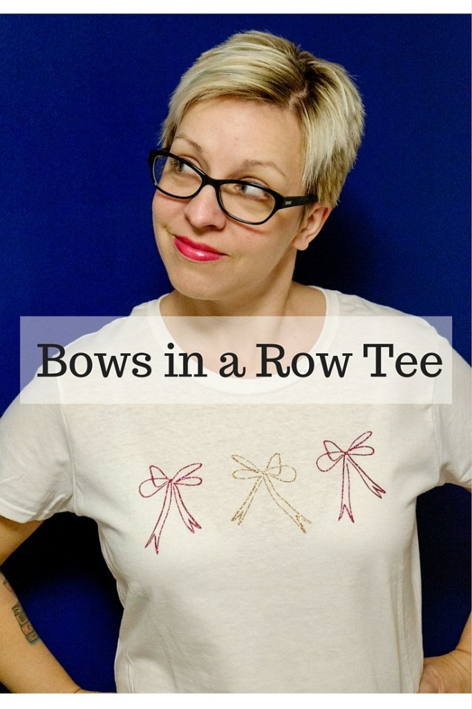 Bows in a Row Tee