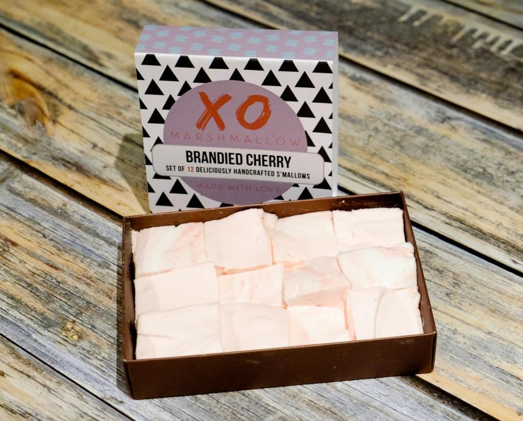 Brandied Cherry Marshmallows from XO Marshmallow