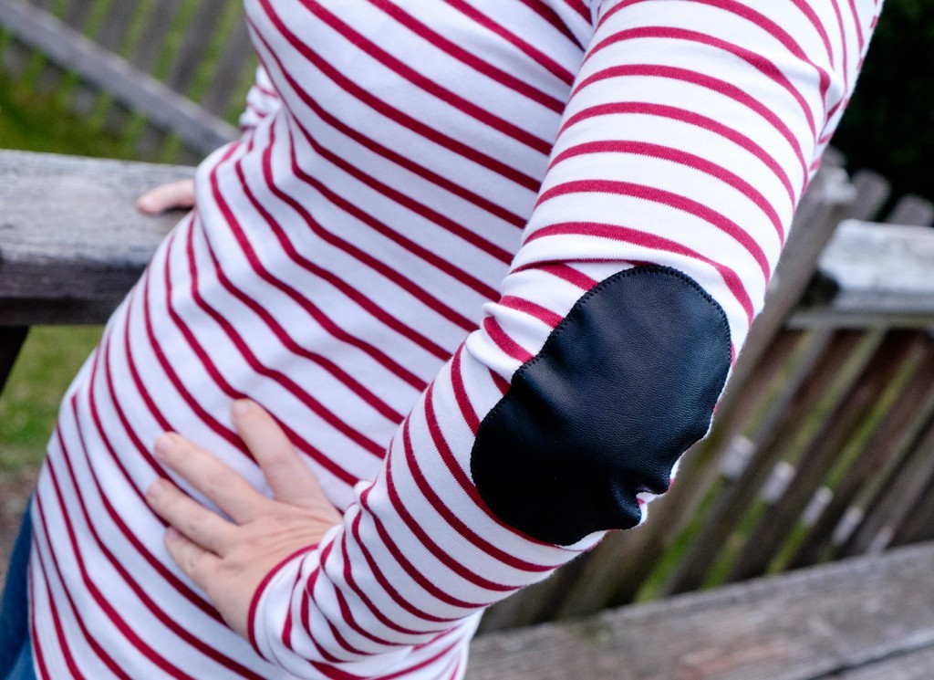 Greenich Striped Knit Top by Pixley