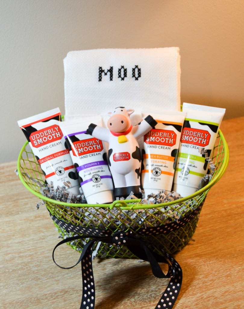 Udderly Smooth Gift Basket