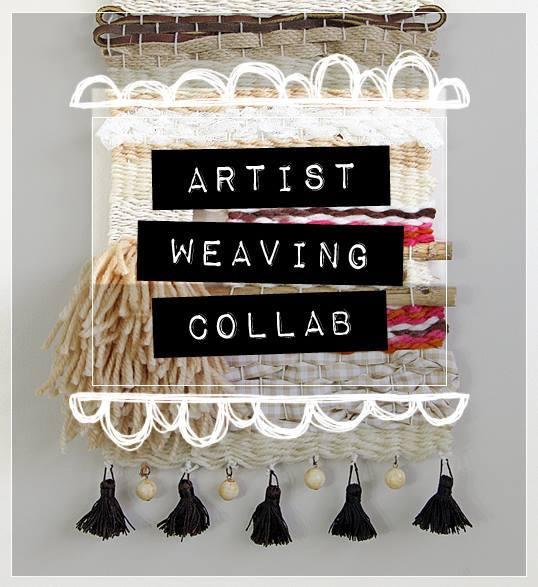 Artist Weaving Collab