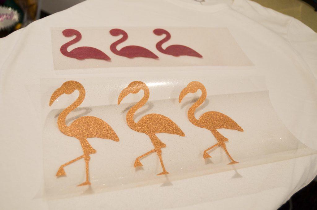 flamingo pieces