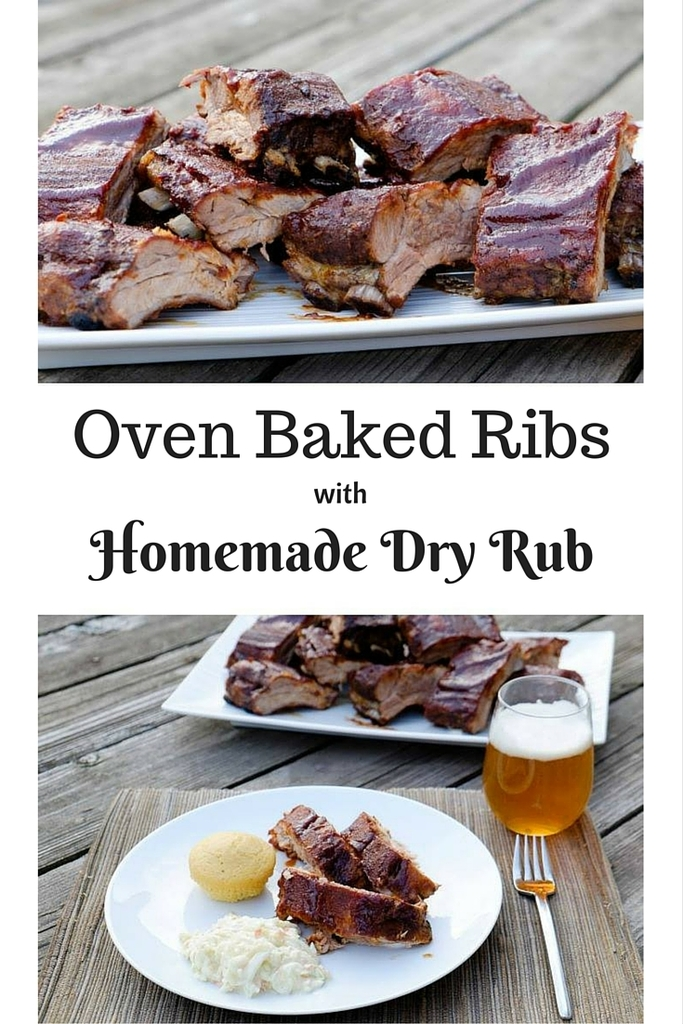 Oven Baked Ribs with Homemade Dry Rub