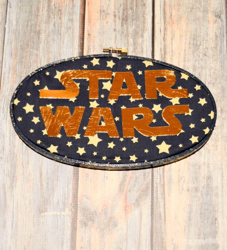 Star Wars Hoop Art