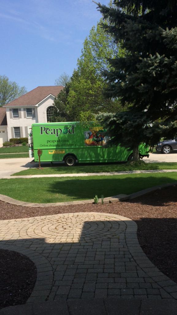 Peapod delivery