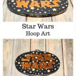 Star Wars Hoop Art