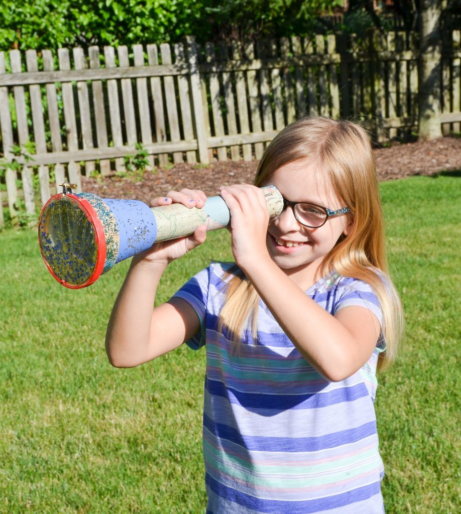 DIY Kid's Kaleidoscope
