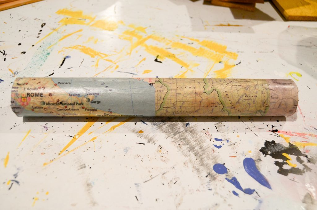 decoupaged tube