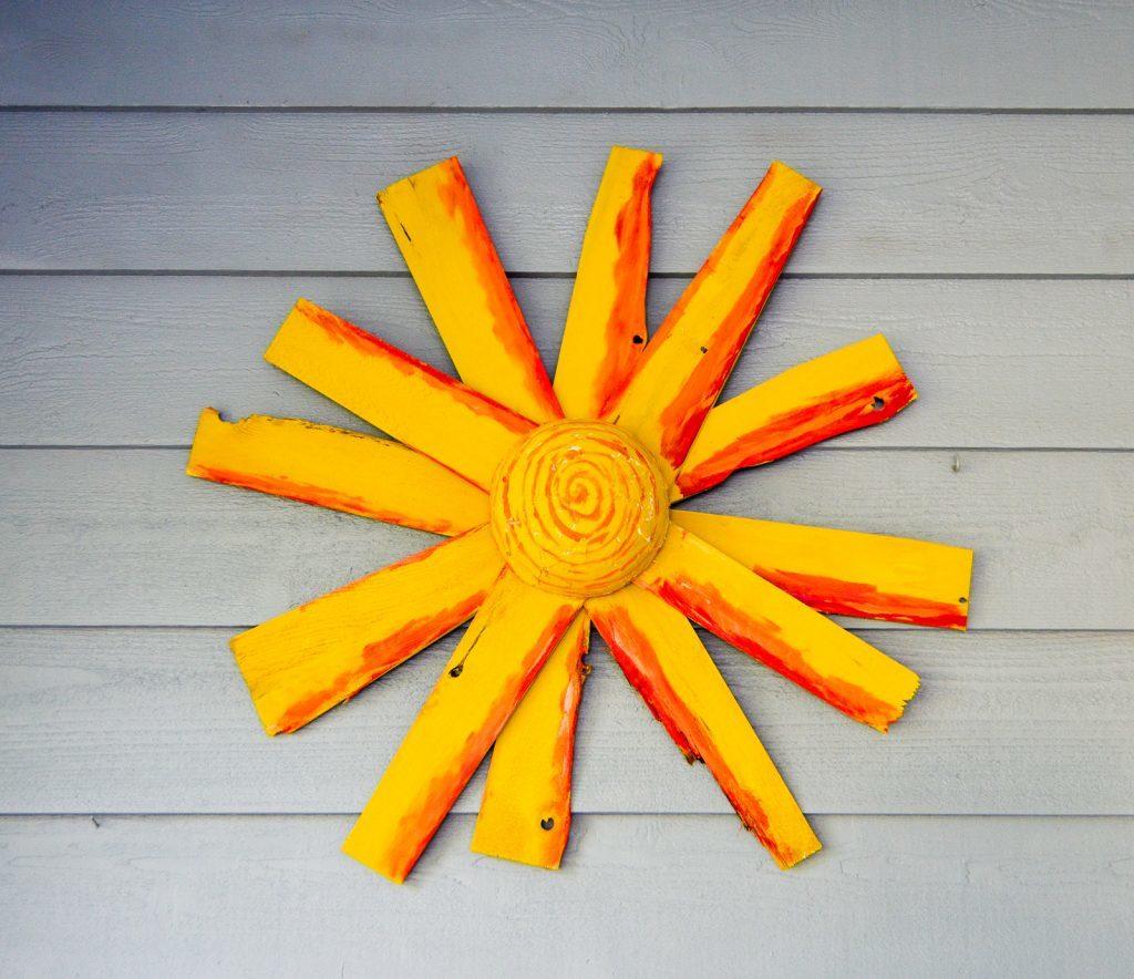 Rustic Sunshine Art