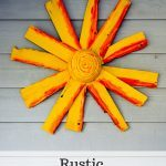 Rustic Sunshine Art