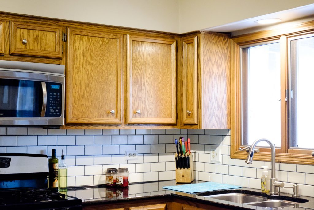 Kitchen Backsplash Update