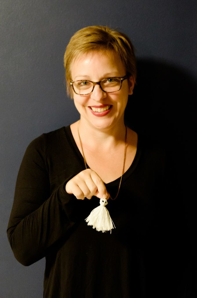 Tassel Ghost Necklace