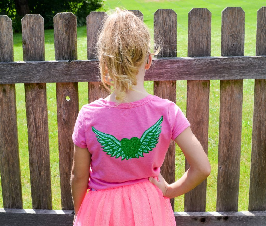 Vinyl Fairy Wings Shirt