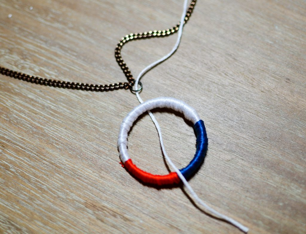 string thread through