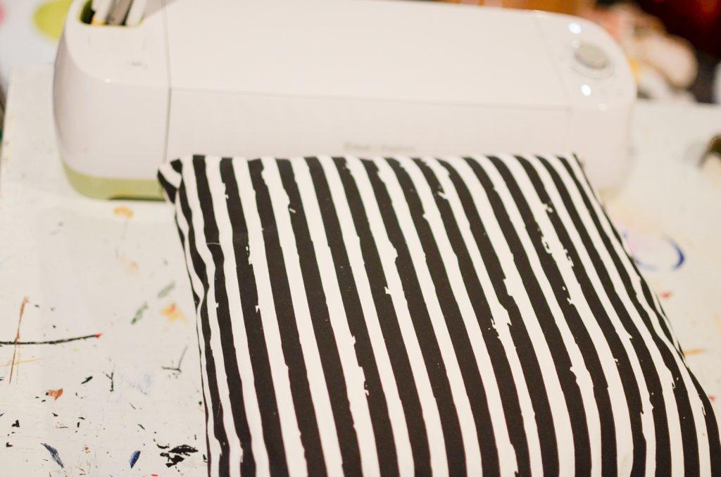 pillow and Cricut