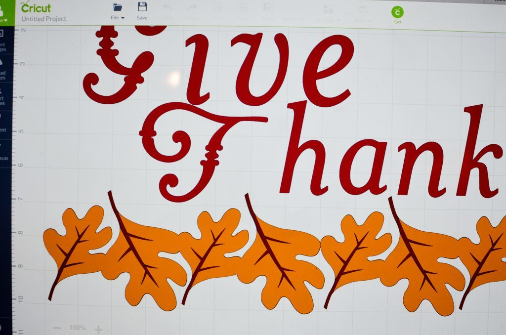 Give Thanks Design Space