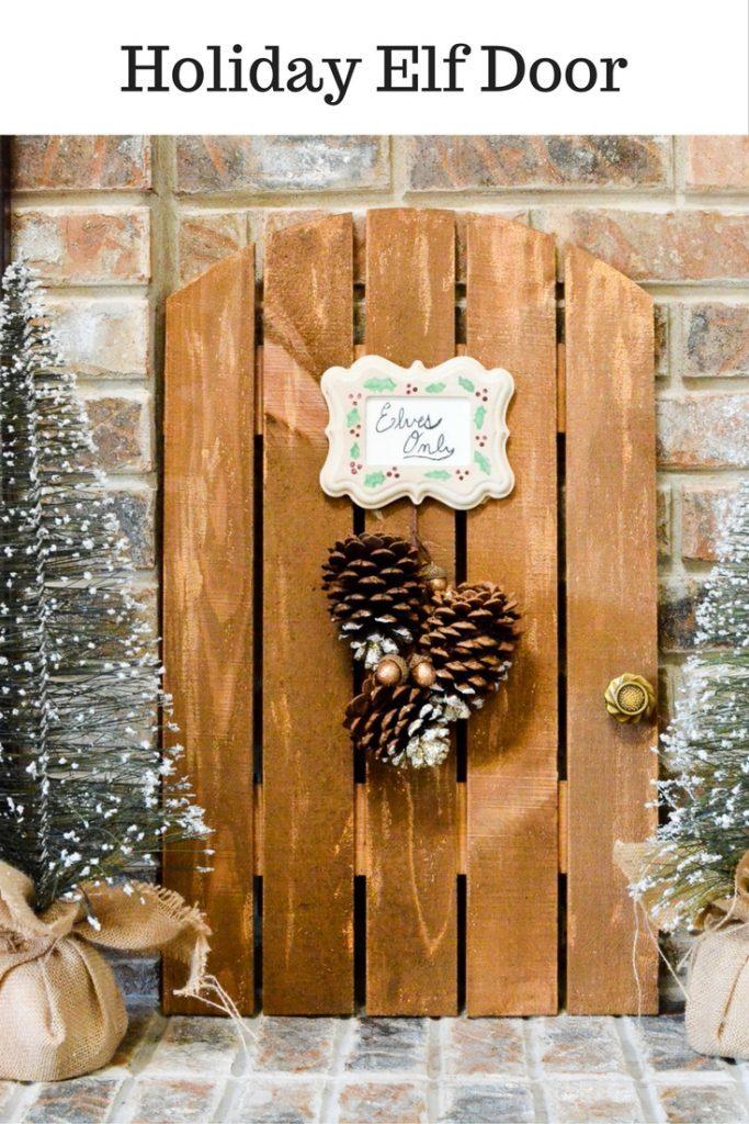 Holiday Elf Door