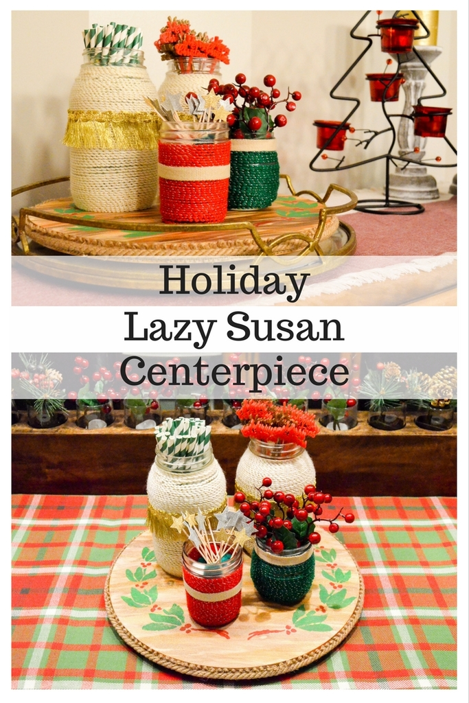 Holiday Lazy Susan Centerpiece