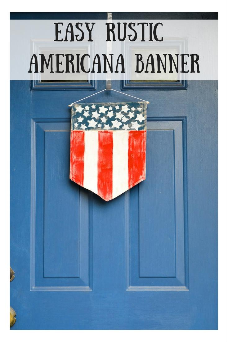 Easy Rustic Americana Banner