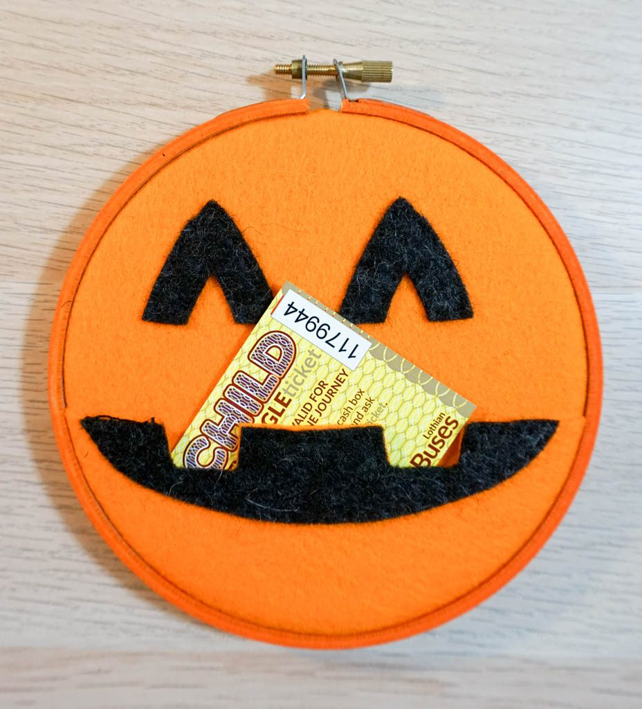Pumpkin Pocket Hoop