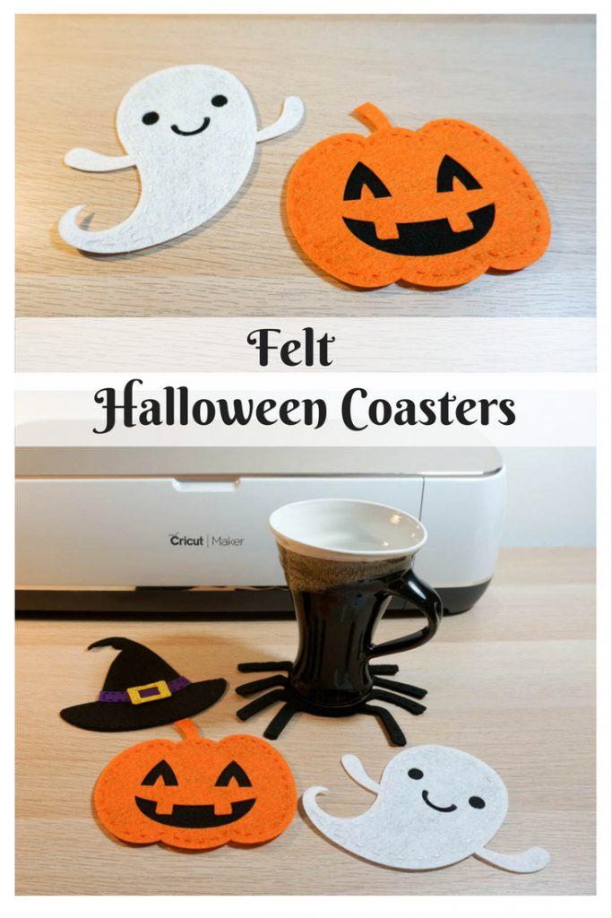 Felt Halloween Coasters
