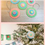 Felt Medallion Ornaments
