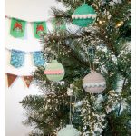 Felt and Pom Pom Ornaments