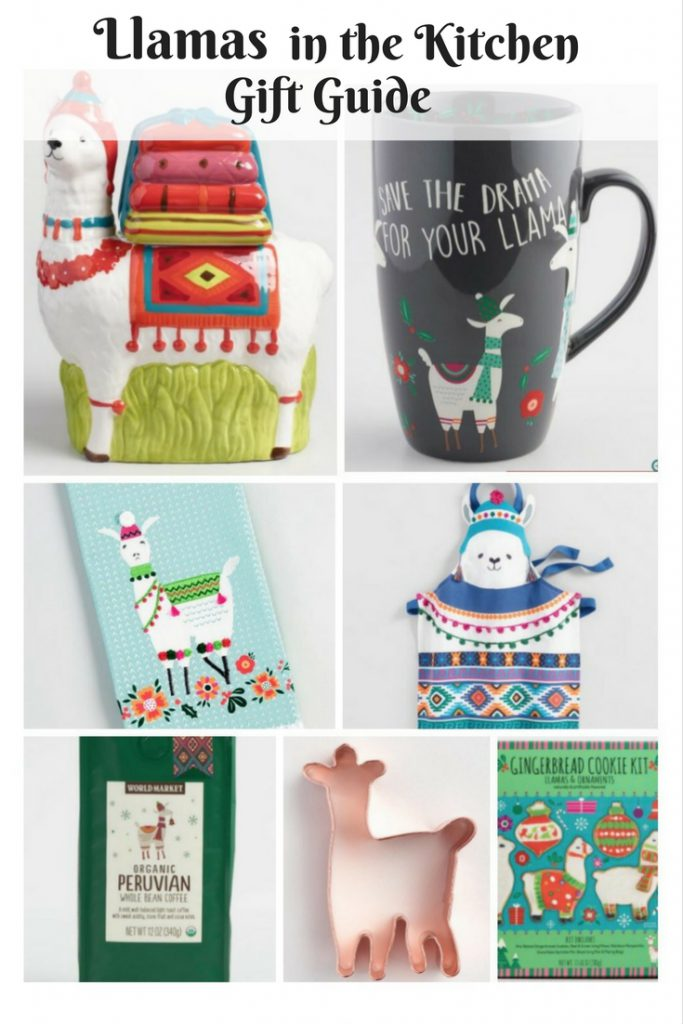 Llamas in the Kitchen Gift Guide
