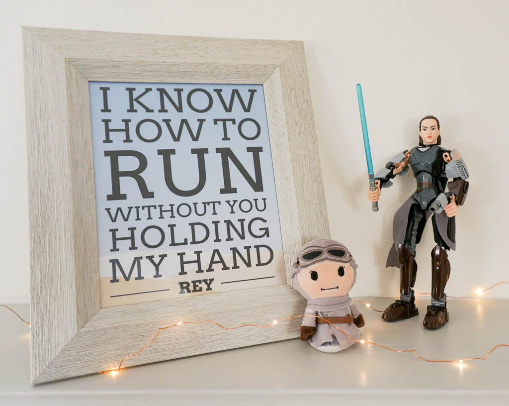Free Star Wars Rey Quote Printable