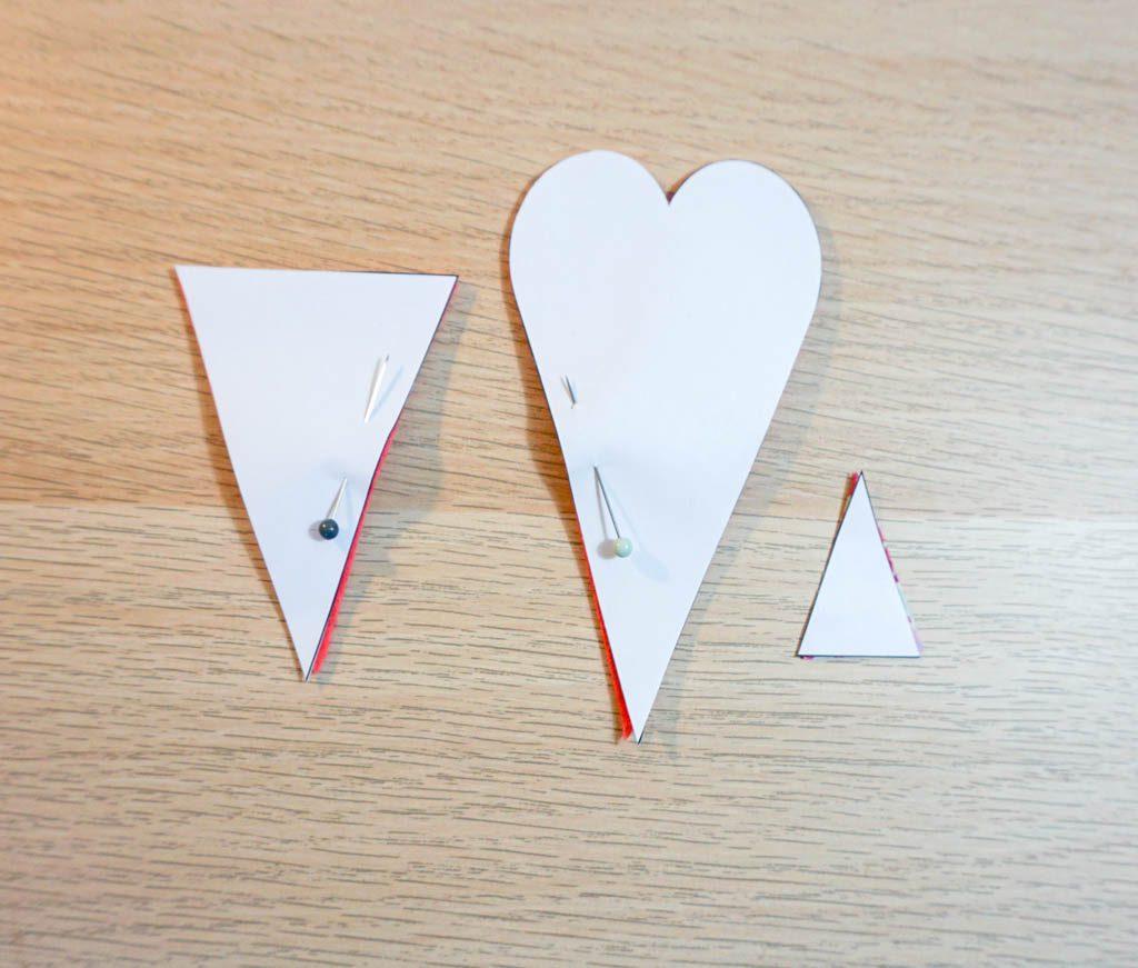 Felt Heart Scissors Pouch