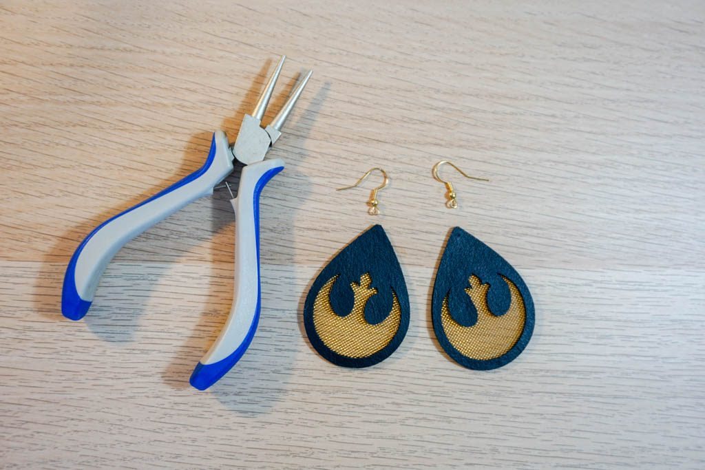 Star Wars Rebel Alliance Earrings
