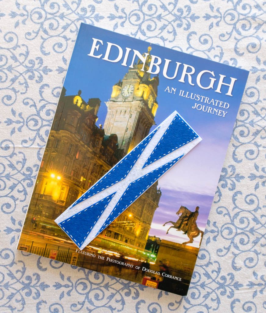 Felt Scotland Flag Bookmark