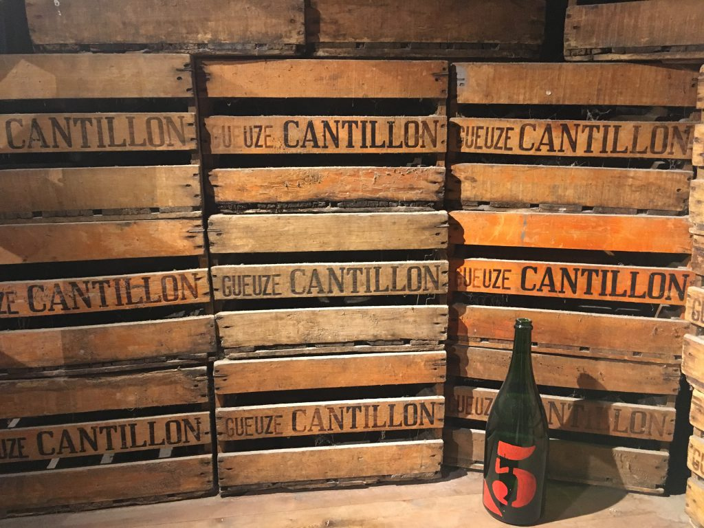 Exploring the Cantillon Brewery in Brussels